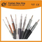 Proveedor confiable Cable de TV Triple Shield Cable coaxial RG6 para CATV / Antena / Cable satelital