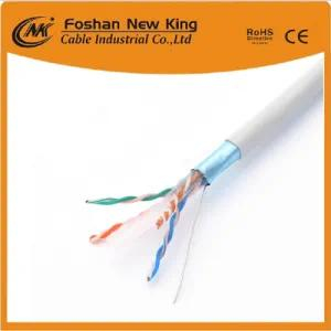 Fábrica 4X2X23AWG CCA / Bc CAT6 Cable LAN Cable de red 250m Distancia de trabajo